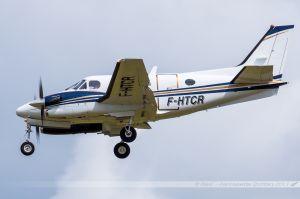 Beechcraft C90GTI King Air (F-HTCR) Valljet