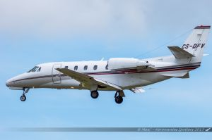 Cessna Citation 560XLS (CS-DFV) Netjets Europe