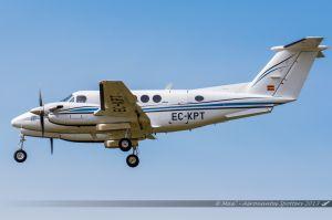 Beechcraft B200 (EC-KPT) Air Taxi Charter International