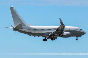 Boeing B737-700BBJ (N834BA) Boeing Executive Flight Operations