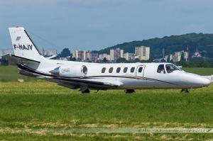 Cessna 550 Citation II (F-HAJV) Valljet
