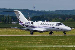Cessna Citation 525 (OM-VPT) VIP Wings