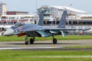 Sukhoi Su-35 Super Flanker (07-RED) Russia Air Force
