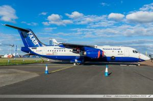 British Aerospace BAe 146-300 (G-LUXE) Facility for Atmospheric Airborne Measurments