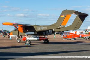 North American OV-10B Bronco (G-ONAA/99+18) Bronco Demo Team