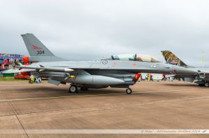 Lockheed Martin F-16BM Fighting Falcon (304) Royal Norwegian Air Force