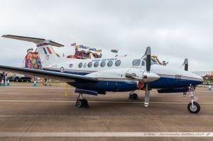 Beech 200GT Super King Air (ZK458/D) Royal Air Force