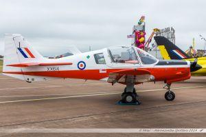 Scottish Aviation Bulldog T-1 (G-GGRR/XX614/I) Royal Air Force