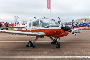 Scottish Aviation Bulldog T.1 (G-BZXZ/XX629) Royal Air Force
