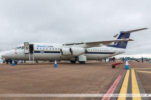 British Aerospace Avro RJ100 (QQ101) Qinetic - Royal Air Force