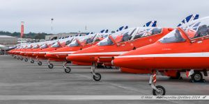 British Aerospace Hawk T.1 - Red Arrows Display Team - Royal Air Force