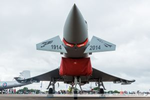 """Eurofighter Typhoon FGR.4 (ZK342) Royal Air Force """"100 years old for 6th Squadron RAF 1914-2014 special c/s"""""""