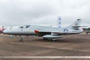 Hawker Hunter T.7 (G-BXKF/XL577) Midair Squadron