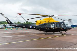 Bell 412EP (ZJ708) RAF - Defence Helicopter Flying School