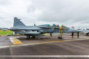 Saab JAS 39D Gripen (841) Swedish Air Force