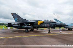 "Panavia Tornado ECR (46-28) German Air Force ""NATO Tiger special c/s"""