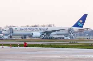 Boeing B777-200BBJ (HZ-AKF) Saudi Arabian Royal Flight