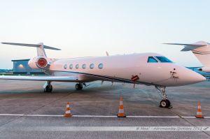 Gulfstream Aerospace G550 (N700HA) Private