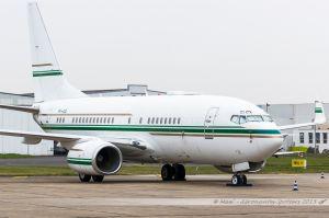 Boeing 737-700BBJ (P4-ASL) Arabasco Flight Operations