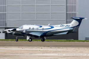 Pilatus PC12 (OH-JRD) Fly 7 Executive Aviation