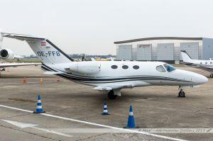 Cessna Citation 510 Mustang (OE-FFB) Globe Air