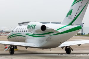 Cessna Citation 525 (OO-FYS) Forest Wings