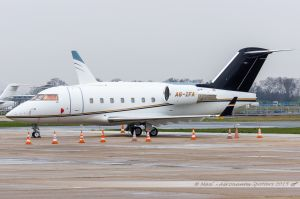Bombardier CL-600-2B16 Challenger 604 (A6-IFA) ExecuJet Middle East