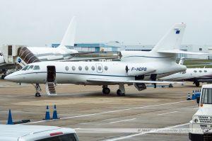 Dassault Falcon 50EX (F-HDPB) Berlys Aviation