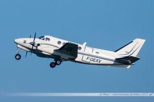 Beechcraft A100 King Air (F-GEXV) Phenix Aviation
