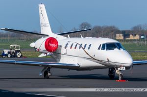 Cessna Citation 560XL (OO-MLG) Abelag Aviation