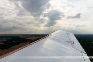 Au décollage de l'aérodrome de Cerny _ La Ferté-Alais