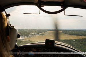 Finale 28 sur l'aérodrome de Cerny-La Ferté