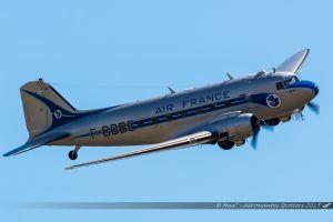 Douglas C-47A Skytrain (F-AZTE) France DC3