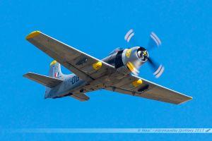 Douglas A-1D Skyraider (F-AZFN) France Flying Warbirds