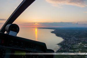 Virage au dessus de Bourgneuf en Retz pour longer la Côte de Jade