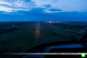 Atterrissage sur la piste 03 de Nantes Atlantique