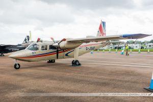 Britten-Norman BN-2T Turbine Islander (G-JSAT) MV Capital