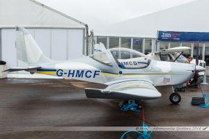 Evektor-Aerotechnik EV-97 Eurostar (G-HMCF) RAF Microlight Flying Assoc, Aylesbury