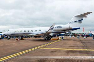 Gulfstream G550 (N550GA) Asia Jet