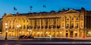 L'hôtel de Plessis-Bellière et l'hôtel Cartier sur la Place de la Concorde