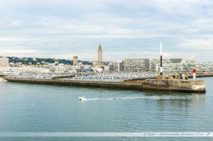 Digue du port du Havre et port de plaisance