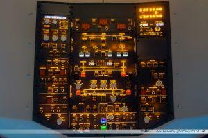 Le tableau supérieur de l'A320 simulé...
