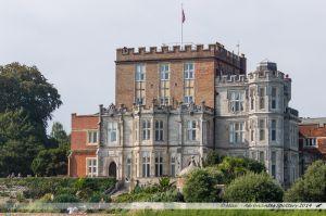 Brownsea Castle sur Brownsea Island, île au centre du port de Poole