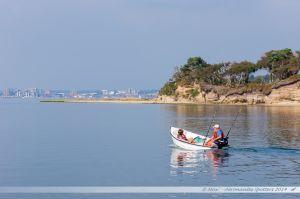 Le long de Furzey Island, en direction de Poole Quay