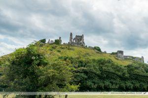 Les vestiges de Corfe Castle