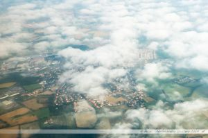 Vu du Ciel : La Séguinière, près de Cholet
