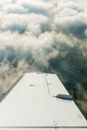 Vu du Ciel : Etang des Noues à l'est de Cholet