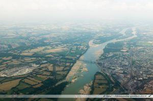 Vu du Ciel : la Loire à Ancenis