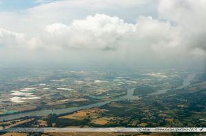 Vu du Ciel : Mauves-sur-Loire et les serres de La Chapelle-Basse-Mer