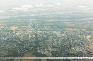 Vu du Ciel : Thouaré-sur-Loire